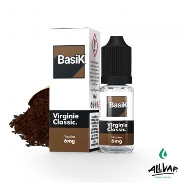 Le e-liquide Virginie Classic de chez Basik
