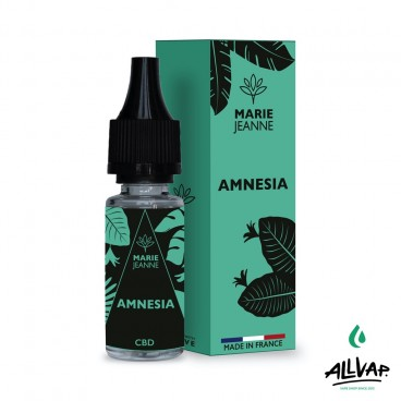 Le e-liquide Amnesia au CBD de chez Marie Jeanne