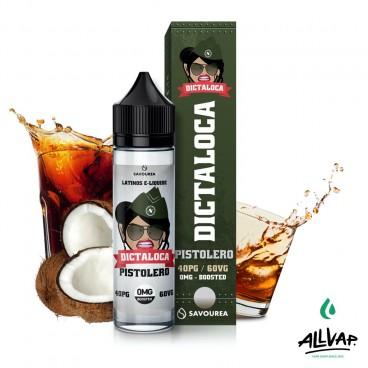 Le e-liquide Pistolera 50ml de chez Dictaloca