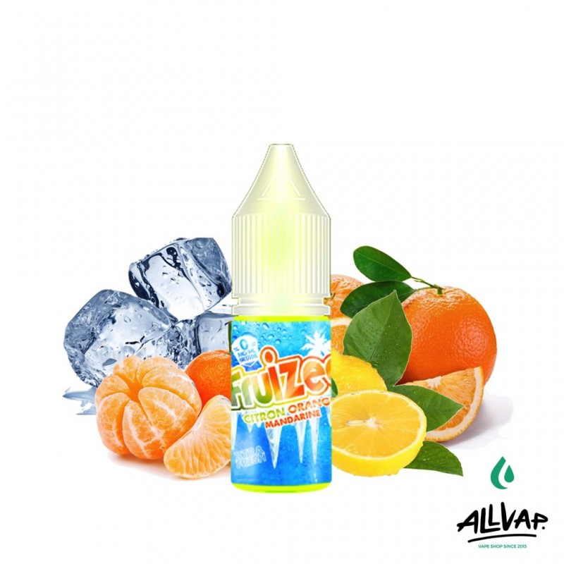 Le e-liquide Citron Orange Mandarine de chez Fruizee