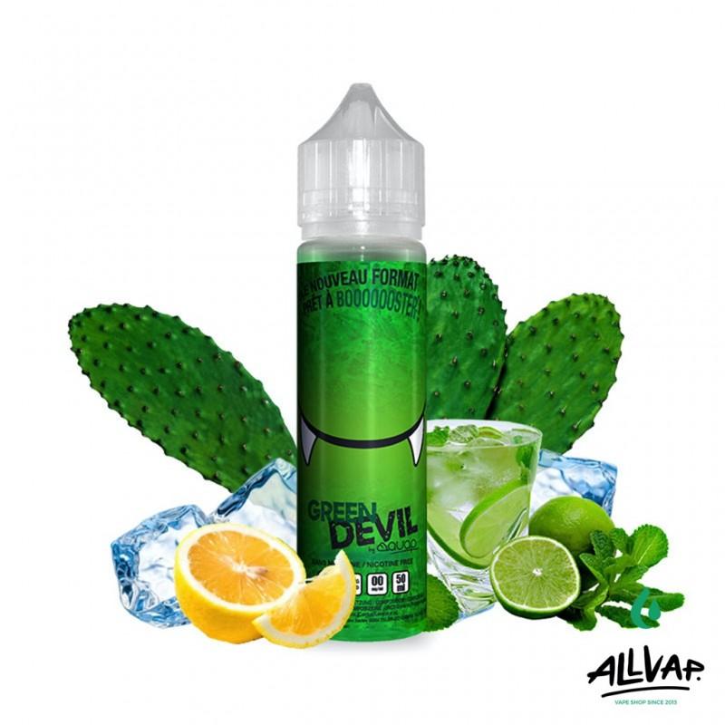 Le e-liquide Green Devil 50ml de chez Avap