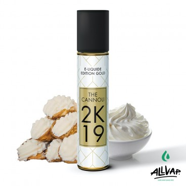Le e-liquide The Cannoli 50ml de chez 2K19