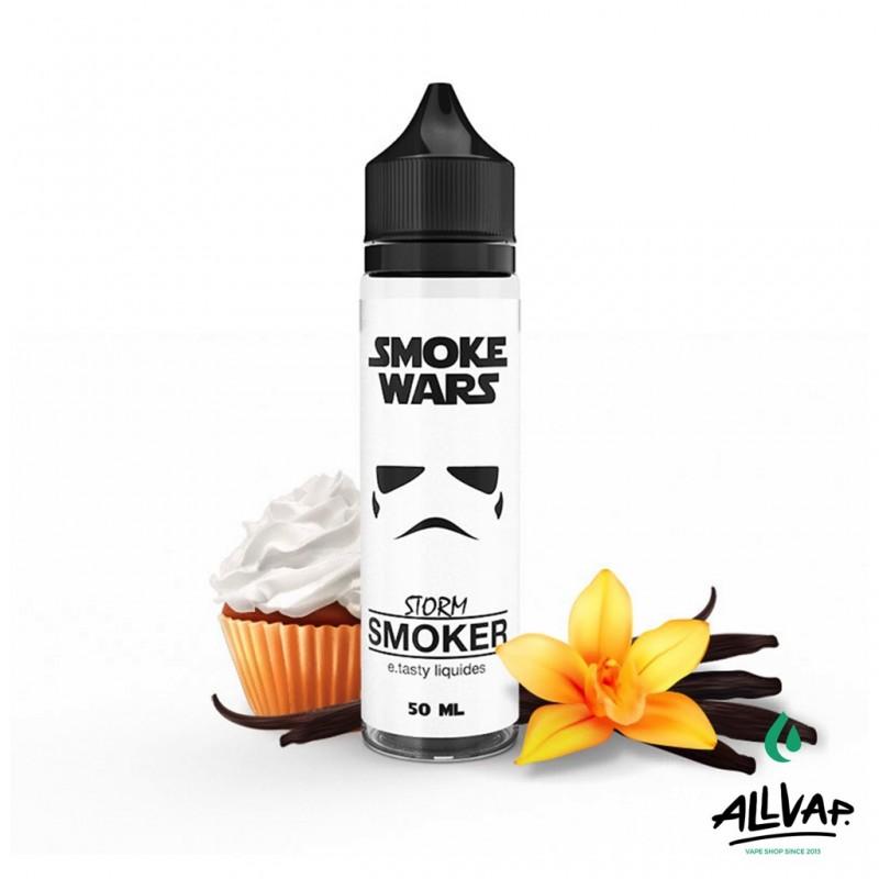 Le e-liquide Storm Smoker 50ml de chez Smoke Wars
