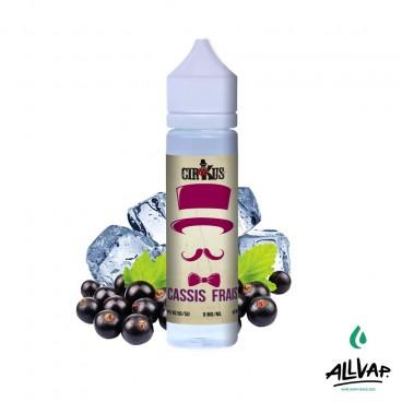 Le e-liquide Cassis Frais 50ml de chez Cirkus