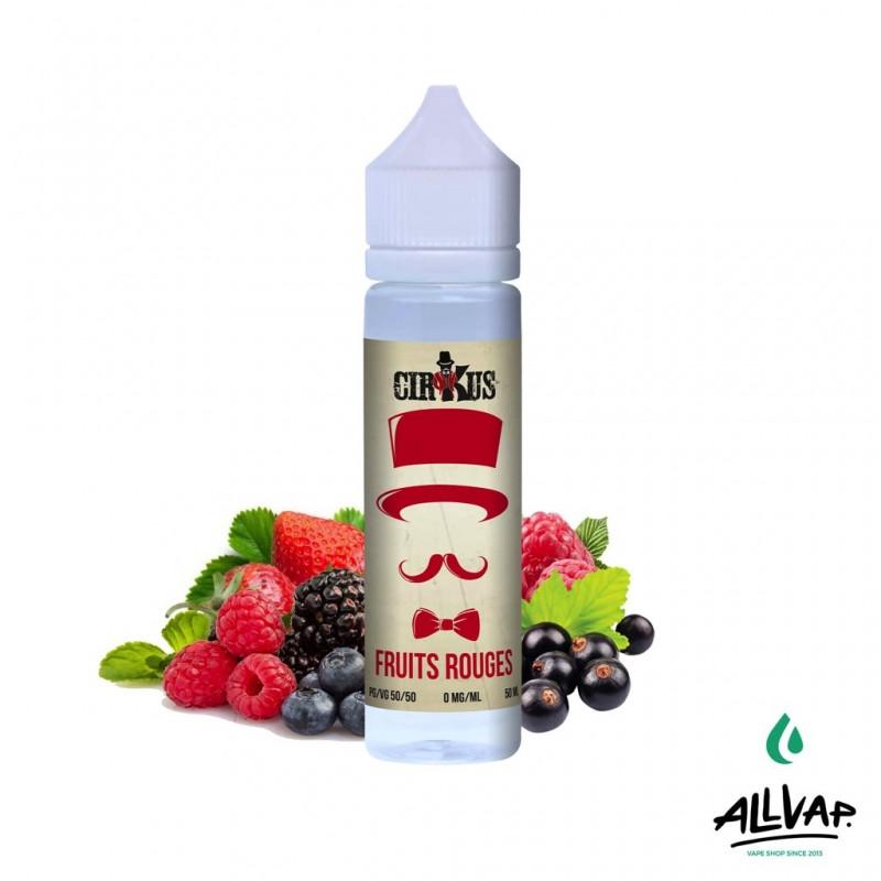 Le e-liquide Fruits Rouges 50ml de chez Cirkus