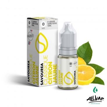Le e-liquide Citron Jaune de chez Savourea