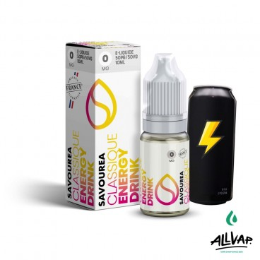 Le e-liquide Energy Drink de chez Savourea