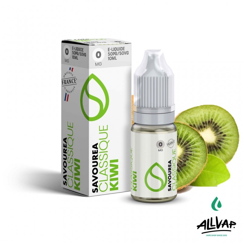 Le e-liquide Kiwi de chez Savourea