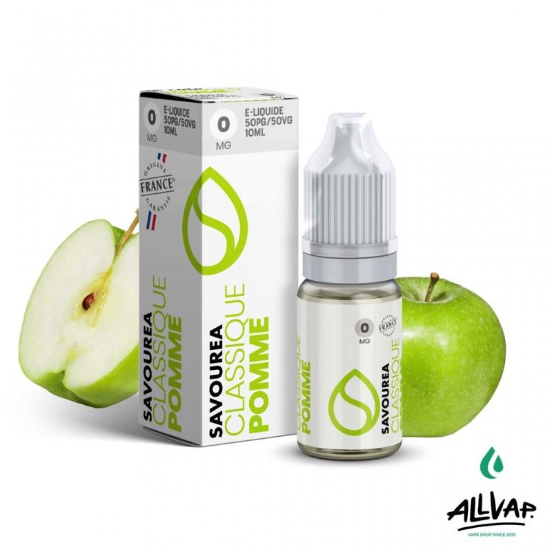 Le e-liquide Pomme de chez Savourea