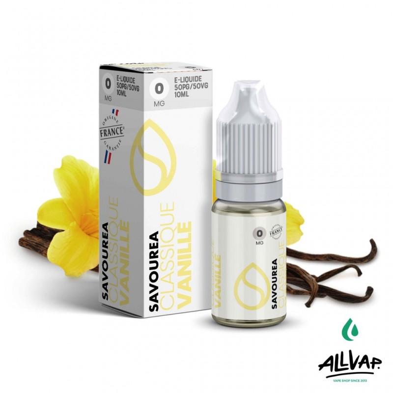 Le e-liquide Vanille de chez Savourea