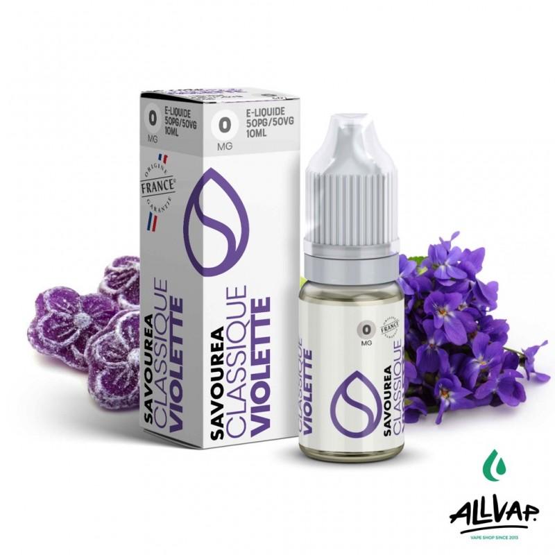 Le e-liquide Violette de chez Savourea